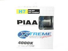 PIAA H7 Xtreme White Plus Halogen Headlight Bulbs Twin Pack 55w = 110w 4000K