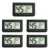 5PCS Mini Digital LCD Temperature Humidity Meter Home Thermometer Hygrometer