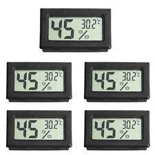 5PCS Digital LCD Thermometer Mini Temperature Humidity Meter Home Hygrometer US