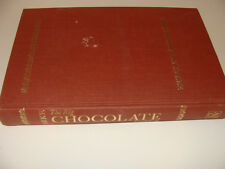 The Big Chocolate Cookbook by Gertrude Parke 1968 1st Edition Great Recipes