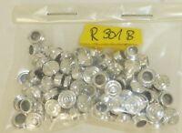 Kässbohrer LKW Felgen Silber Chrom 100 Stück H0 1:87 tuning  R301B  LL2   å *