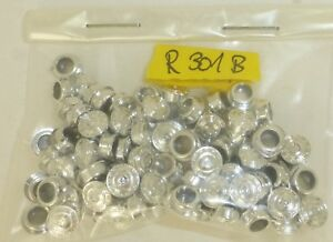 Kässbohrer Truck Rims Silver Chrome 100 Piece H0 1:87 Tuning R301B LL2 Å