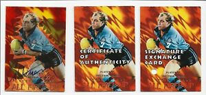 1996 Rugby League All Fired Up Sig card # 402 Geoff Toovey Manly Sea Eagles