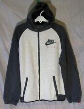 New listing Boys Girls Nike Air Light Grey Colourblock Hooded Jacket Hoodie Age 12-13 Years