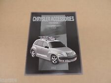 2002 Chrysler PT Cruiser Accessories Brochure dealer literature catalog original