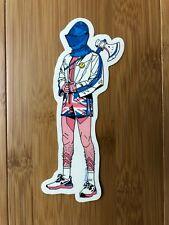 Tyler Stout   British Knight   Berserk Merks No.10   Sticker Banana Bucks Mondo