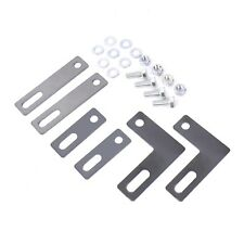 Intercooler Fitting Kit-Universal Fitting-Steel Brackets-Highly Adjustable