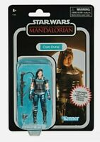 STAR WARS VINTAGE COLLECTION CARBONISED ACTION FIGURE - CARA DUNE  in hand, RARE