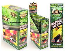 FULL BOX of 25 Packs(2 per pack) JUICY HEMP WRAPS - Mango Papaya Twist Flavored