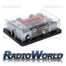 Fusible Agu estilo bloque de distribución 3x 4awg - 4x 8awg fusible titular 4 vías Car Audio