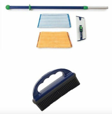 *NEW* Norwex Superior Mop System Mini + Brush *Wet & Dry Pads (5 pieces)