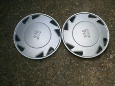 Peugeot wheel trims hub caps wheel covers, genuine, 2x, 13""