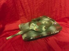"""Funrise BATTLE TANK (2001)vehicle armored 9"""" long  army builder lot!"""