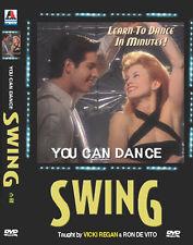 You can dance : Swing (DVD,All,New) Vicki Regan, Ron De Vito
