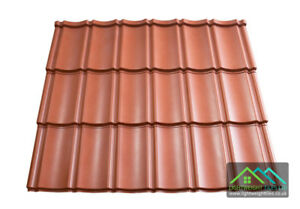 Lightweight Plastic Roof Tiles Pan Tile Sheets Red Shed Cabins Stables Garages