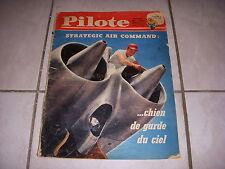 PILOTE 114 28.12.61 AVION STRATEGIC AIR COMMAND Le CIRQUE AUTO BRABHAM F1