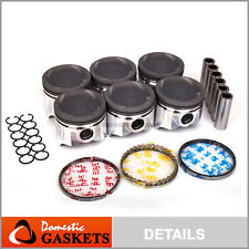Pistons and Rings fit 87-92 Toyota Supra Turbo 3.0L DOHC 7MGTE