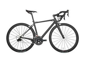 2020 56cm New Complete Aero Carbon Road Bike UD Matt Racing Bicycle Alloy Wheel