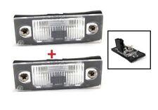 VW TOUAREG TIGUAN 07- 2x LAMPE d'éclairage de plaque d'immatriculation