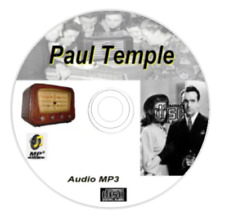 The Adventures of Paul Temple 105 Old Time Radio Episodes Audio MP3 on CD OTR 97