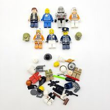 Lego Minifigures Lot (7) & Accessories Star Wars Transformers Police Batman EUC