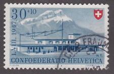 Switzerland 1947 # B165 Flüelen Station - Pro Juventute used semi-postal