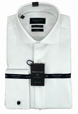 Patternless Regular Collar Slim Casual Shirts & Tops for Men