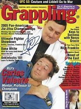 Carlos Valente Signed 2005 Grappling Magazine BAS Beckett COA UFC BJJ Jiu-Jitsu