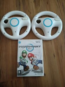Mario Kart with two Wii Wheels (Wii)