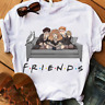 Friends Harry Potter T Shirt White