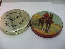 Vintage THORNE'S TOFFEE World's Premier Royal Canadian Mounted Police RCMP Tin