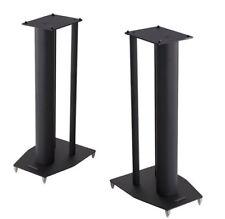 Mission Stance Black Steel Speaker Stands 590mm Height (Pair)