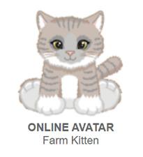 Webkinz Farm Kitten *Code Only*