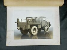 Antique Walter Tractor Truck Real Photograph