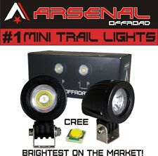 #1 Mini Trail Lights 2017 Design by Arsenal Offroad 20W CREE LED Spot Motorcycle