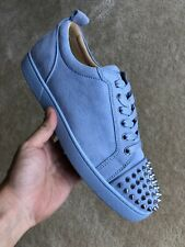 Christian Louboutin Sky Blue Junior Spikes 44.5
