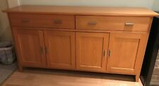 Morris Furniture Solid Wood Sideboard with 4 Doors and 2 Drawers