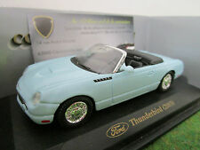 FORD THUNDERBIRD 2003 cabriolet bleu clair 1/43 YATMING 94243A voiture miniature