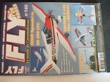 **au Revue Fly n°140 Cockpit SX Multiplex / Eauze 2006 / Teck Pokal