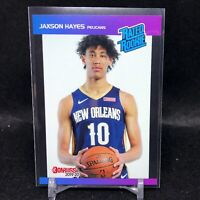 2019-20 Jaxson Hayes Panini Retro Rated Rookie Card RC 1989 Donruss In Hand SP