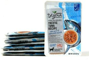 8 Packs Purina Beyond 2 Oz Pacific Tuna Recipe Carrot Sweet Potato In Broth