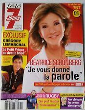 Télé 7 jours 6/10/2007; Béatrice Schönberg/ Grégory Lemarchal/ Ardisson/ Martin