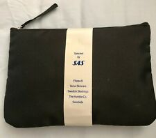 NEW RELEASE SAS Scandinavian Airlines Filippa K Business Class Amenity Kit BLACK