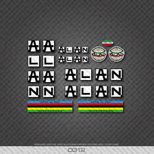 0312 Alan Bicycle Stickers - Decals - Transfers