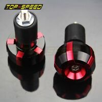 "CNC Motorcycle 7/8""Handlebar Hand Grips Bar End For Honda CBR 1000F 1000RR 900RR"