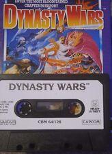 DYNASTY WARS (Capcom) c 64 cassette (TAPE) (Game, Manual, imballaggio)
