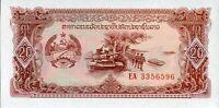 [CF2036] Laos 1988, 20 Kip, Serie de Reemplazo EA (UNC)