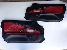 Honda S2000 Door Cards Panels Black/Red With Tweeters (Both Sides) AP1