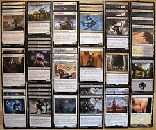 ALLIES ASSEMBLE! Black White Ally Standard Legal Custom 60 Card Magic MTG Deck *