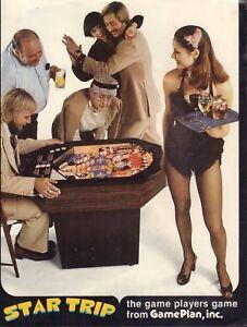 Star Trip GamePlan Coin-Op Circa 1970's Advertisement  092717DBE